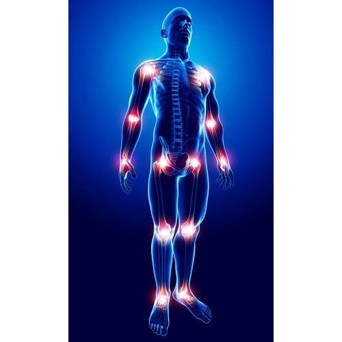 crampe și dureri articulare