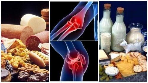 dureri articulare din dieta