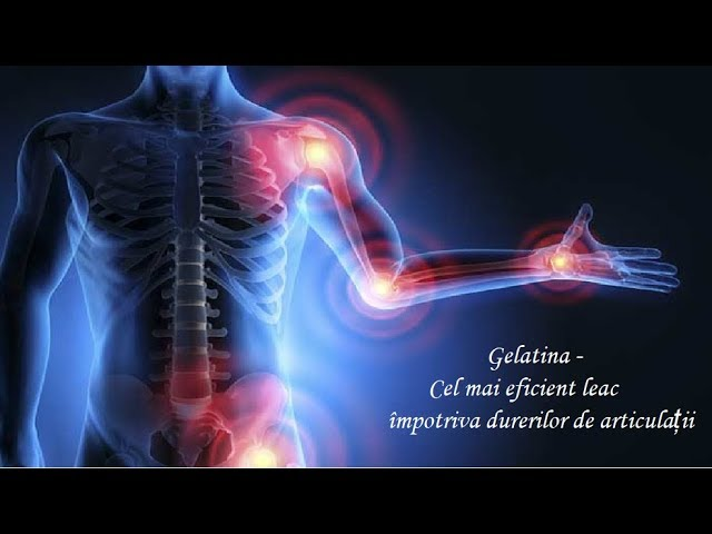 tratament cu gelatină cu artroză)