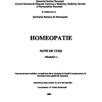 homeopatia tratează articulațiile