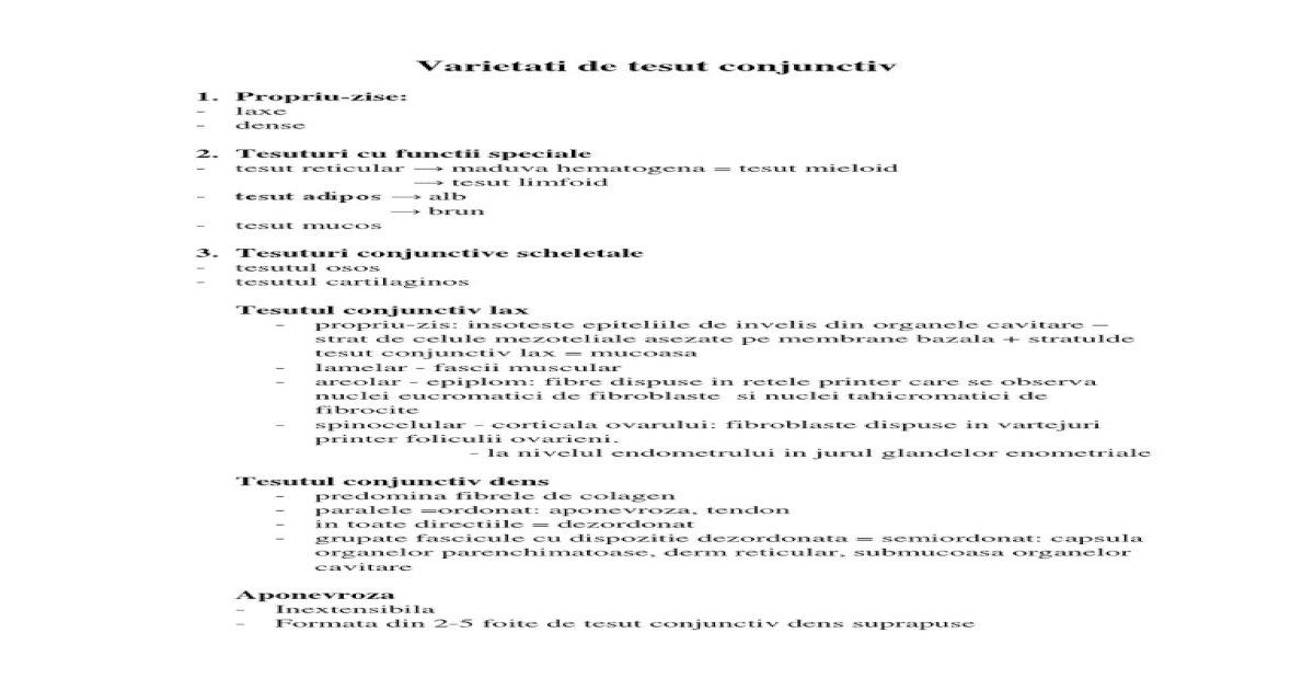 manual privind bolile țesutului conjunctiv)