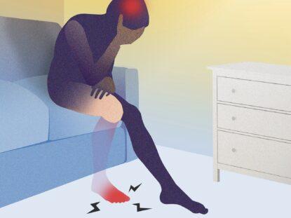 Tratarea durerii fantoma, mecanismul producerii durerilor...