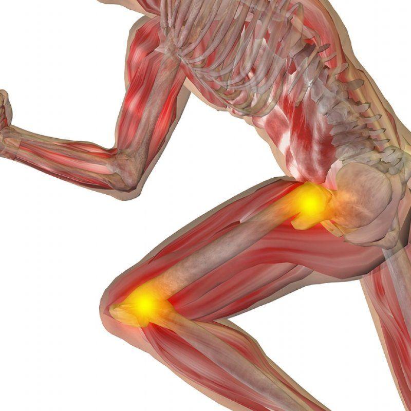dureri la genunchi și șold