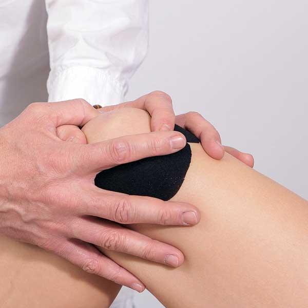 cum să tratezi o articulație sub genunchi