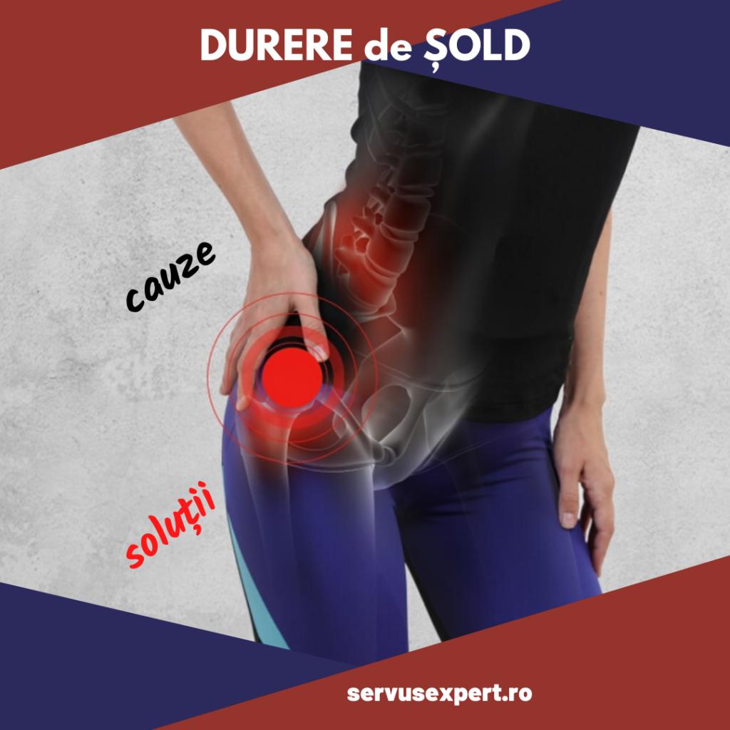 dureri în sacru și cauzele articulației șoldului)