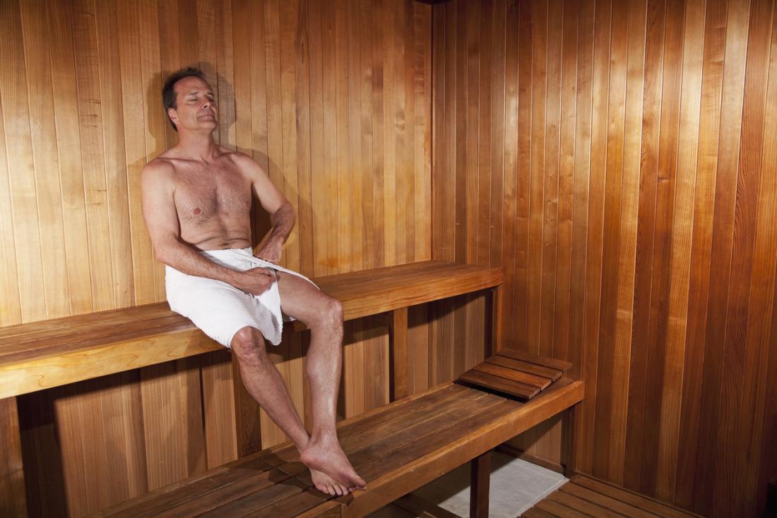 saună de tratament comun)