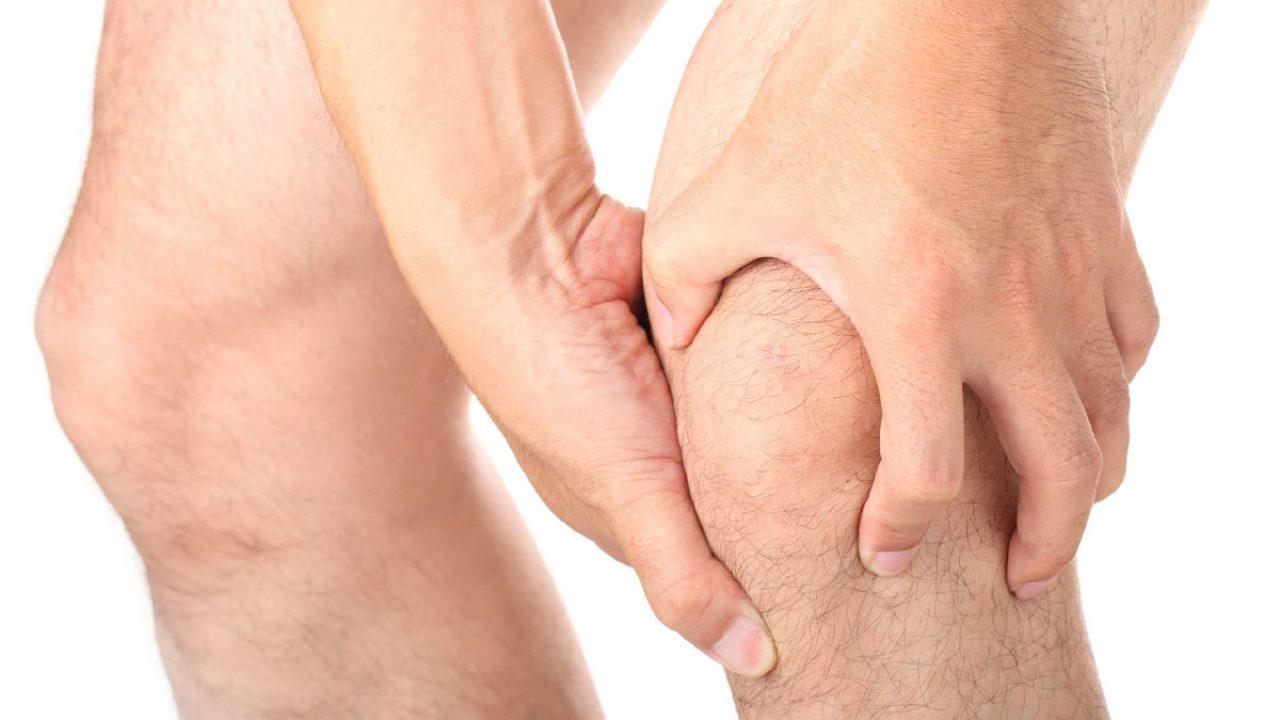 durere ascuțită în mușchiul de deasupra articulației genunchiului
