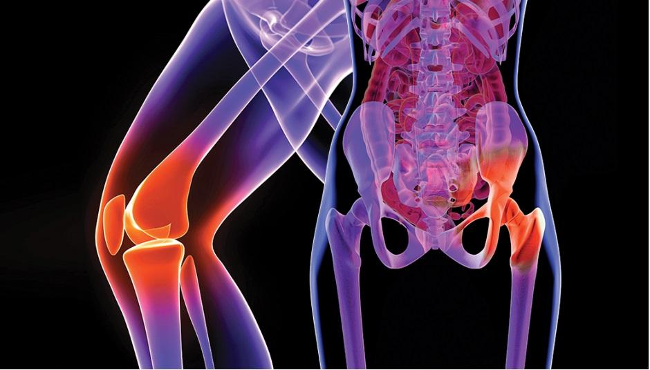 Atenuând durere în zona articulației șoldului