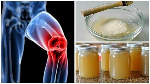 calmarea durerilor articulare de gelatină)