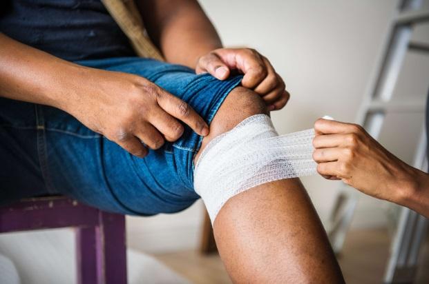 leziuni la genunchi la ghemuit