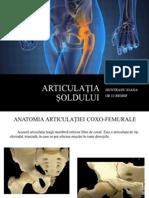 radiație de durere în articulația șoldului