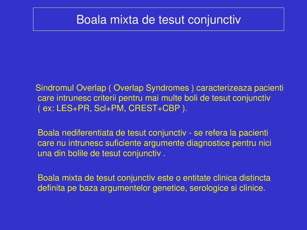 cum se manifestă bolile de țesut conjunctiv
