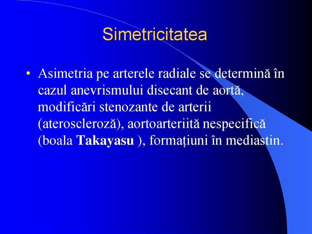 ateroscleroza bolii cotului