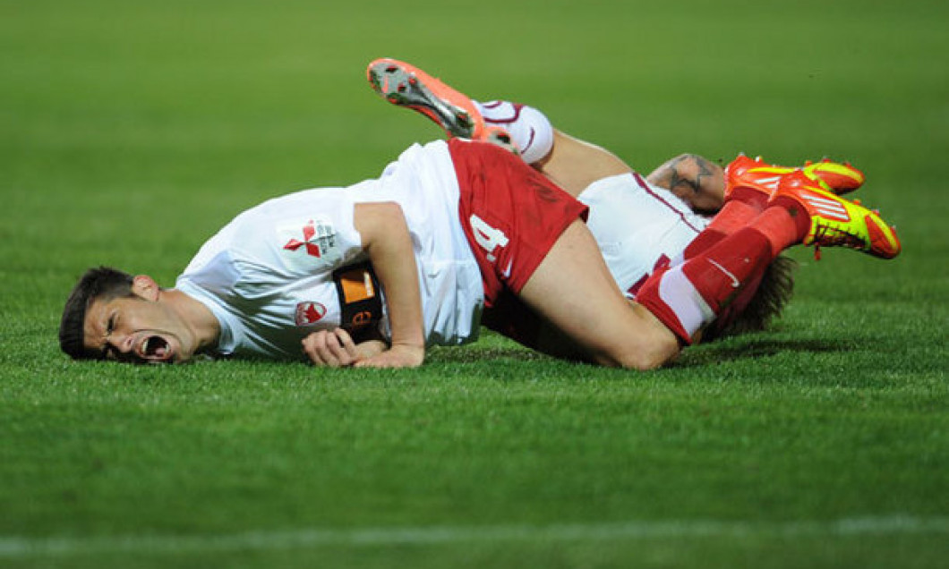 probleme de genunchi de fotbalist