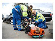 accident de cot prim-ajutor)