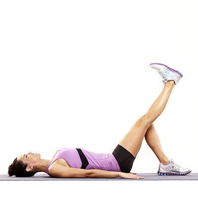un set de exerciții pentru durerea articulației genunchiului