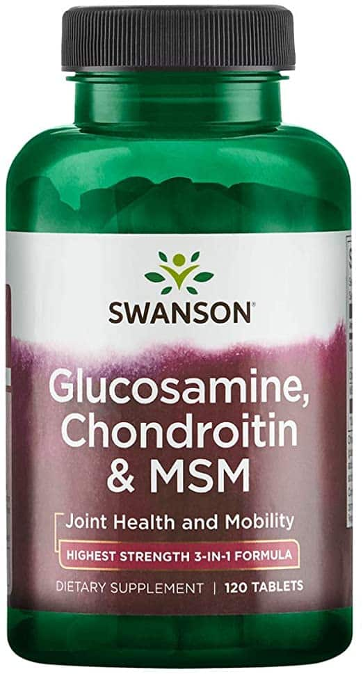 cât timp pot fi luate glucozamină și condroitină
