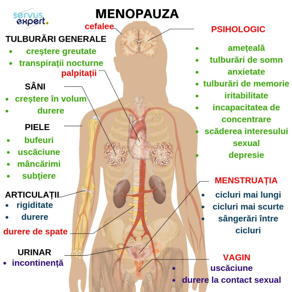 dureri articulare în menopauză)