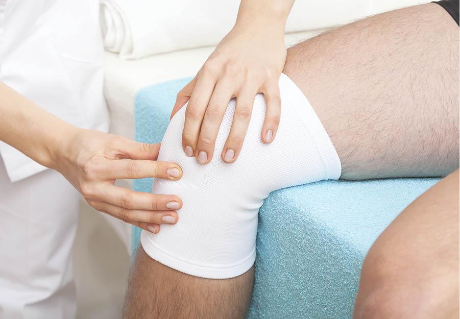dureri la genunchi și umflarea piciorului