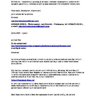 Profil poliartrita reumatoida - Synevo