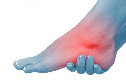 Umflarea articulației glezna-picior