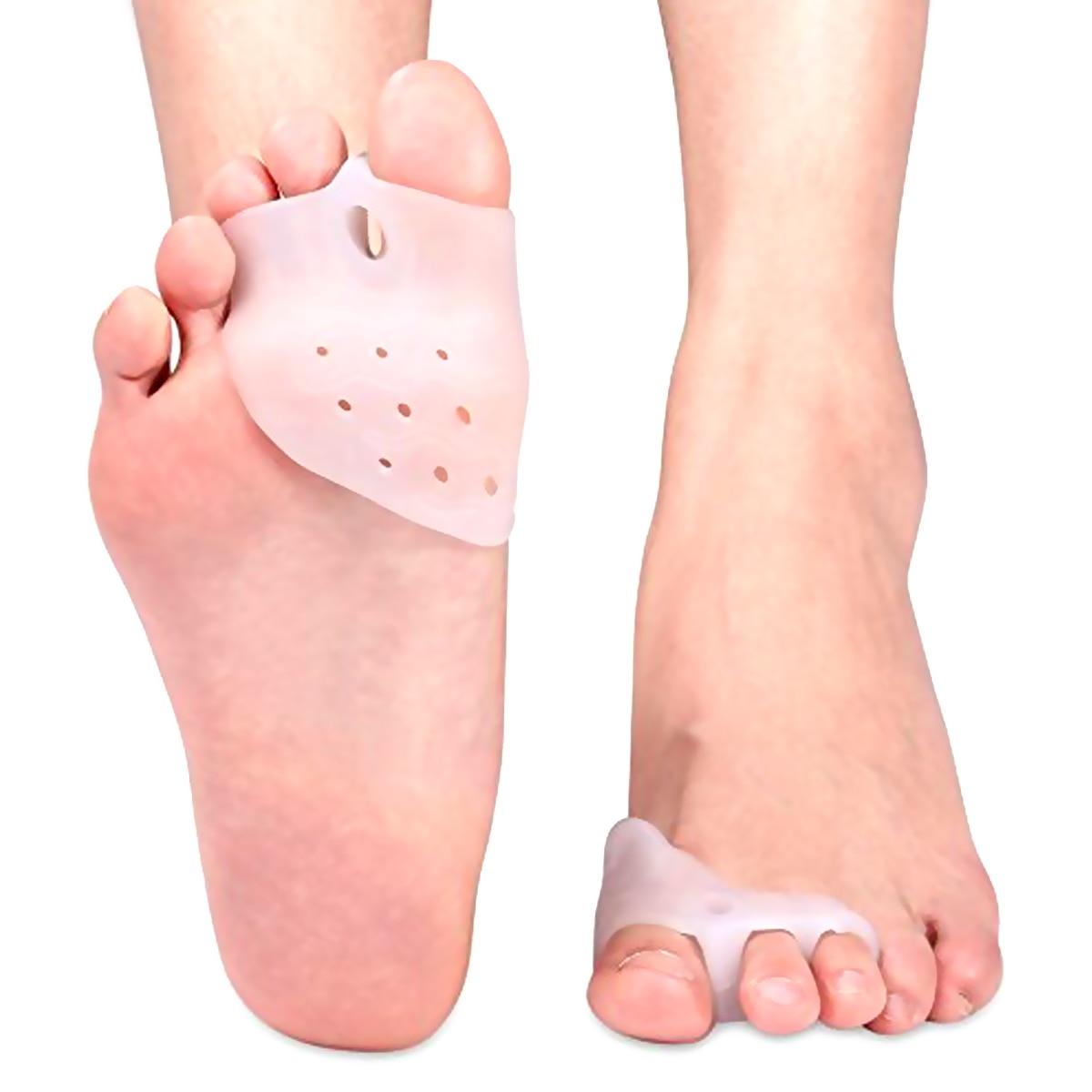 între degetele de la picioare apăru un deget dureros)