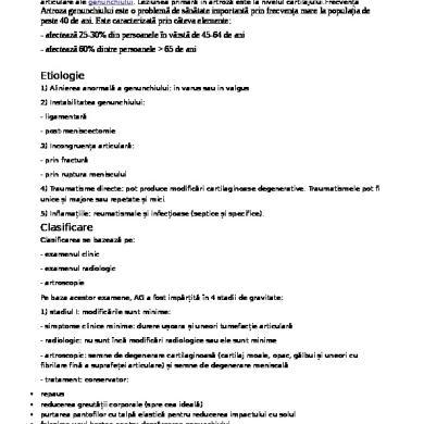 artroză articulară multiplă