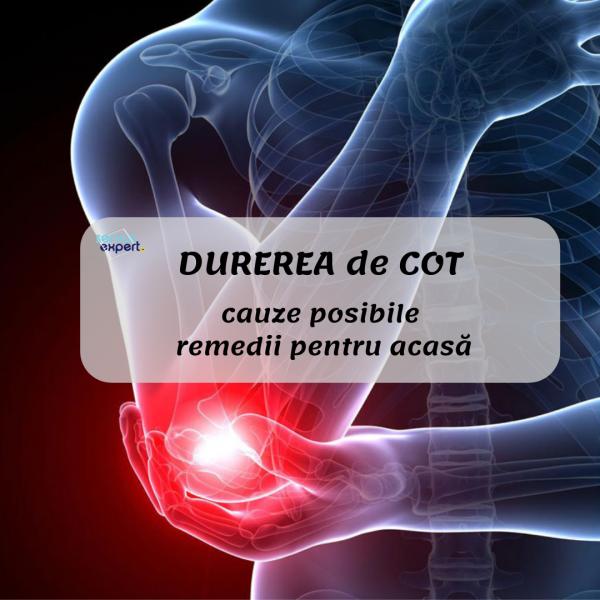 atenuând dureri în articulațiile cotului
