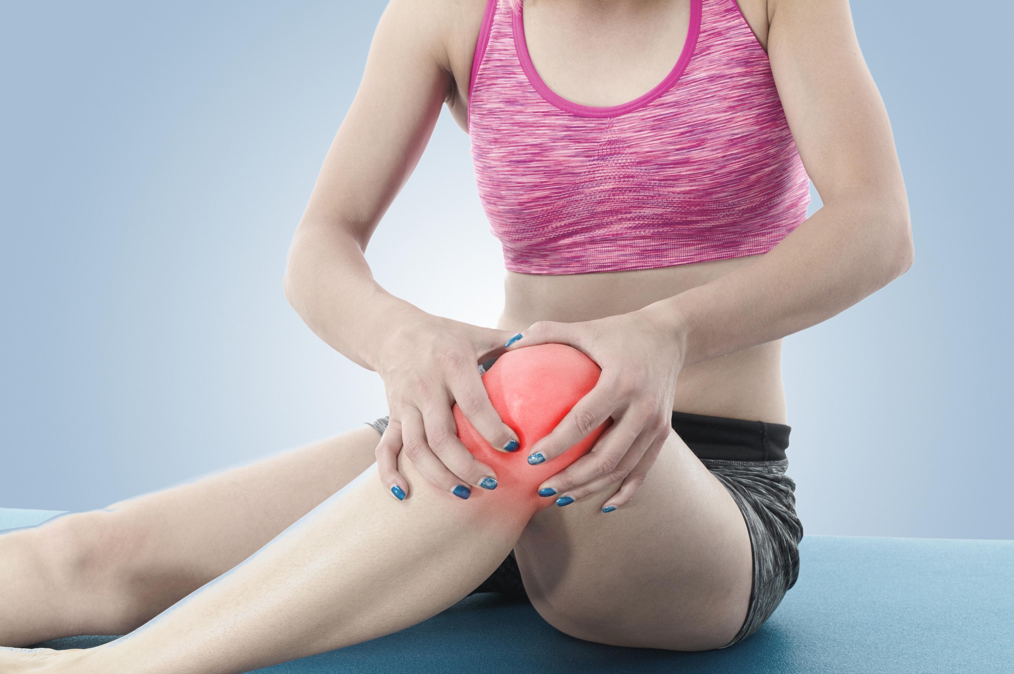 mobilitatea în articulațiile genunchilor)