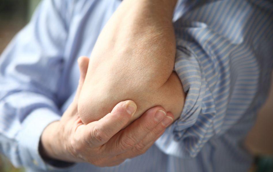 tratamentul bolii cu bursita cotului